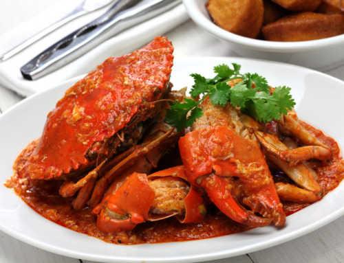 စင်္ကာပူရဲ့ ထိပ်တန်းအစားအစာတစ်ခုဖြစ်တဲ့ ဂဏန်းအစပ် (Chilli Crab)