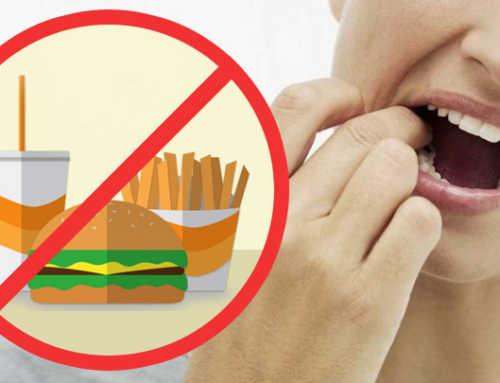 သွားအတွက် မကောင်းသည့် အစားအစာများ