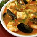 ပင္လယ္စာ အစုုံ စတူး Korean Seafood Stew (Haemultang)