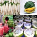 ပူျပင္းေသာ ရာသီဥတုတြင္ စားသင့္ေသာ အစားအစာမ်ား