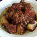 ဝက္သားနီခ်က္ ရိုးရိုးေလး - (Pork Caramelized)