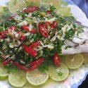 ငါးသံပုရာေပါင္း - Plah Kapong Neung Manao