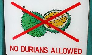 No-durians-allowed-sign