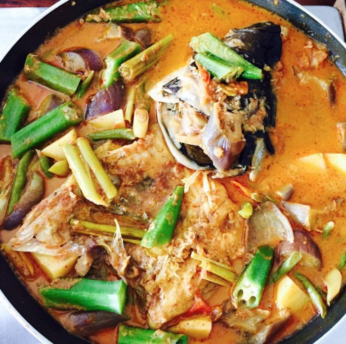 Singaporean Fish Head Curry