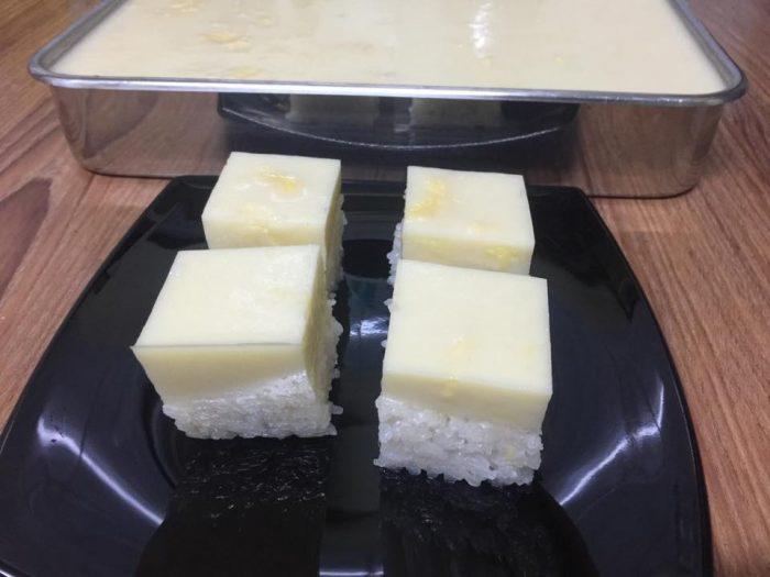 Sticky Rice Gelatine