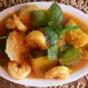 pumpkin and Shrimp curry