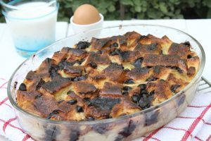 Chocolate ,Banana & Bread Pudding 2