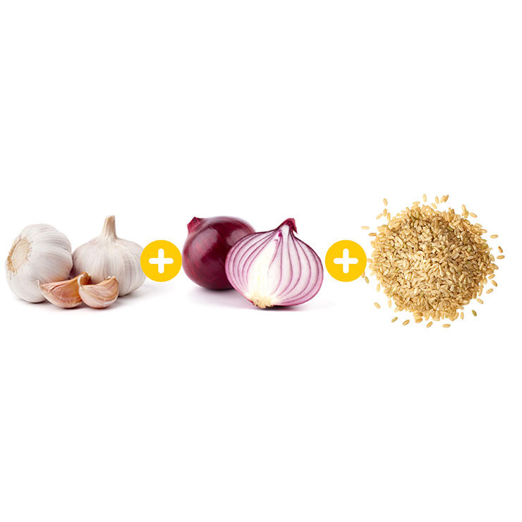 garlic-onion-rice