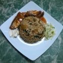Fried Sardine with Rice