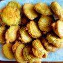 ဖရံုသခြား (Zucchini) အသားညွပ္ေၾကာ္