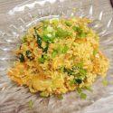 Korea kimchi rice salad