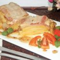 ဝက္အသားျပားပတ္ အာလူးခ်ိစ္ဖုတ္ (Bacon Wrapped Potato with Cheese Bakes)