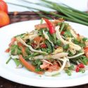 အာရွ ၾကက္သားသုပ္ (Asian Chicken Salad)