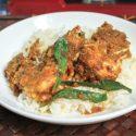 ပုစြန္ထုပ္ဟင္း (King Prawn Curry)