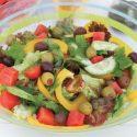 က်န္းမာေပ်ာ္ရႊင္ အရြက္စံုသုပ္ - (Happy and Healthy Salad)