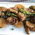 အာလူးျပဳတ္နဲ႔ အမဲနံ႐ုိးစတူး - (Boiled Potatoes and Beef Rib Stew)