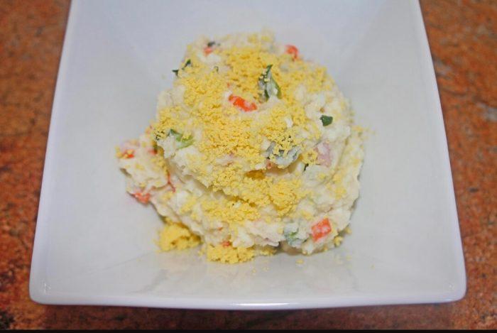 ကိုရီးယားအာလူးေထာင္း (Korean Potatoe Salad)