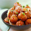 ထိုင္းအမဲသားလံုး (Thai Beef Meatballs)