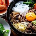 ကိုရီးယားထမင္းသုပ္ Korean Bibimbap (Mixed Rice With Vegetables)