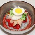 ကိုရီးယား ေခါက္ဆြဲေအး Korean Cold Noodles (Naengmyeon)