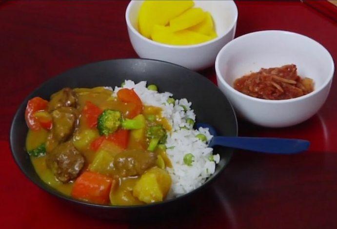 ကိုရီးယားစတိုင္ Curry Rice