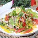 အာရွ အရသာ ၀က္သားသုပ္ Asian Pork Salad