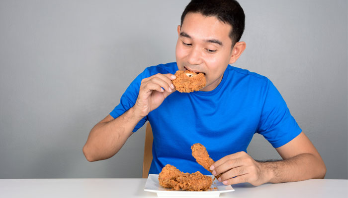 Eating Food with Hands
