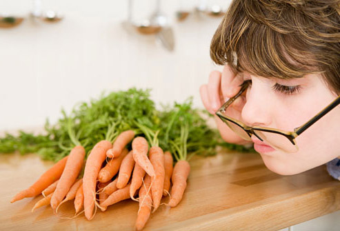 Carrots for your Eyes