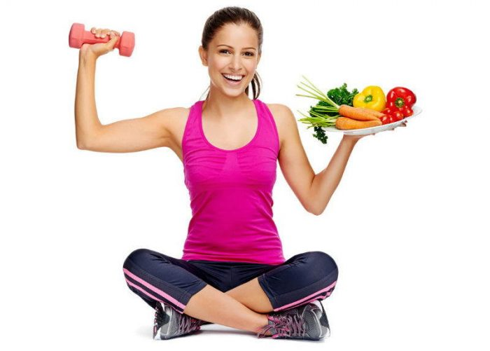 Exercise-Diet-Food