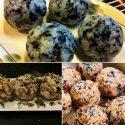 ကိုုးရီးယားထမင္းလံုုး Korean Rice Ball (Jumuk-Bap)