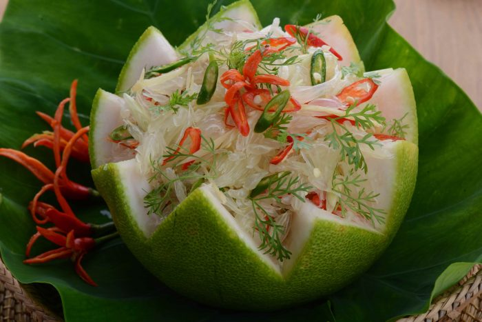 Spicy Pomelo Salad