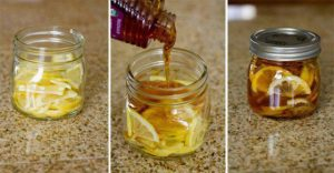 lemon-ginger-and-honey-in-a-jar-cold-buster
