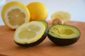 lemon & avogado