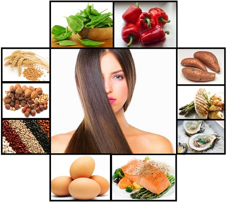 Healthy Food for Hair