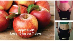 apple diet for 7days