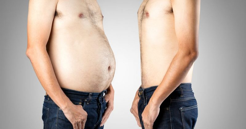 Belly Fat vs. Flat Belly
