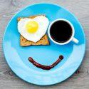 Happy Breakfast Plate