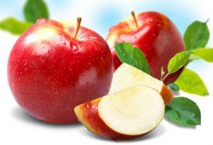 Apple-slice-leaves