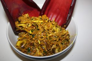 Banana Flower Stir Fry