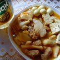 mented bamboo shoot and pork curry