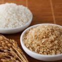 White Rice and Brown Rice