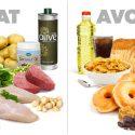စားသံုးသင့္တဲ့ အဆီဓာတ္ပါတဲ့ အစားအစာမ်ား