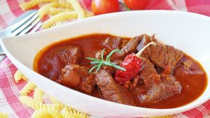 Meat Cook Goulash Main Course Beef Eat Court