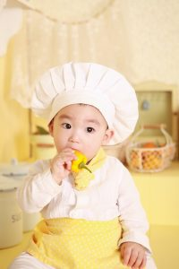 person-cooking-kitchen-child-yellow-baby-chef-cook-product-eating-dress-infant-toddler-skin-sweetness-only-1075665