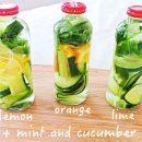 ျမန္မာေတြ ႀကိဳက္ႏွစ္သက္မယ့္ သံပုရာသီး၊ဂ်င္း၊သခြားသီး၊ ပူစီနံရြက္ ပါ၀င္တဲ့ Detox Drinks