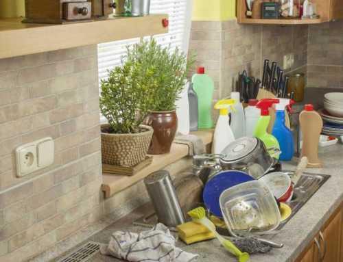 ညစ်ပေရှုပ်ပွနေတဲ့ မီးဖိုချောင်ကို သန့်ရှင်းသပ်ရပ်သွားအောင် ဘယ်လိုလုပ်ရမလဲ