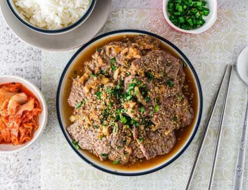 ကိုရီးယားစတိုင္လ္ အမဲသားဟင္း