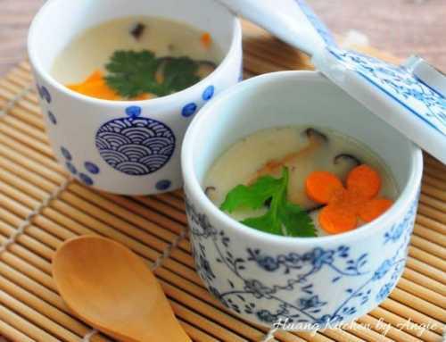 ဂျပန်စတိုင်လ် ဟင်းသီးဟင်းရွက် ကြက်ဥပေါင်း