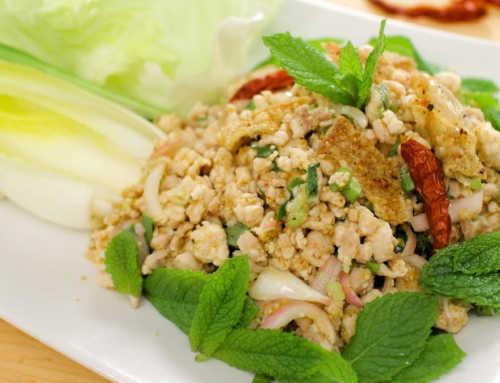 ထိုင်းစတိုင်လ်ကြက်သားသုပ်ပြုလုပ်နည်း