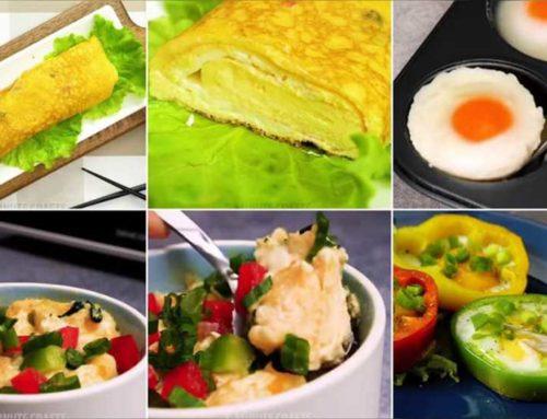 အိမ်မှာကြက်ဥရှိရုံနဲ့ ထူးထူးဆန်းဆန်းအရသာရှိတာလေးတွေလုပ်စားနိုင်မယ့်နည်းလမ်းများ